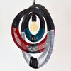 African Woven Necklace Light  WNR4801 by Modern Gesture