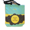 You are what you read Blue Tote Bag by Kantiga