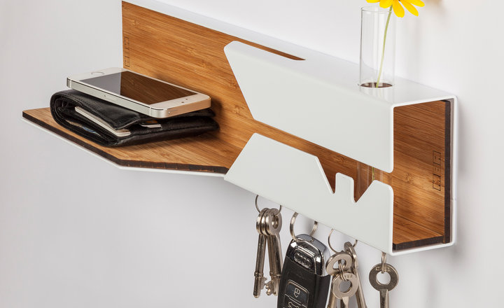 MBA Hello! Shelf (White)