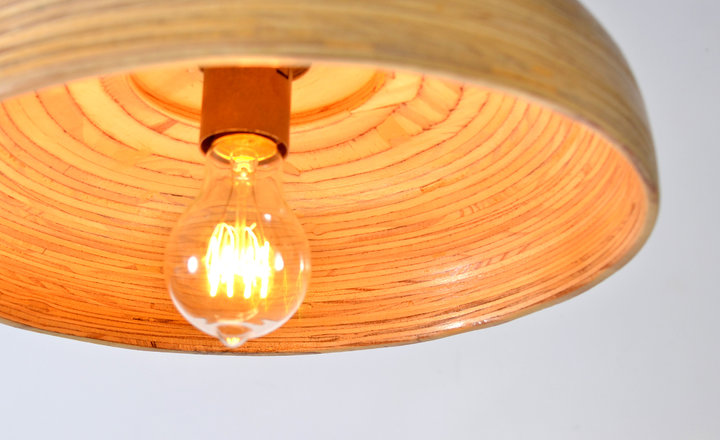 Wide Pendant Lamp