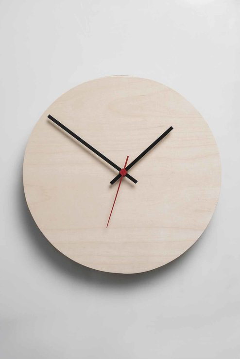 Round Clock (Natural) by Native Decor
