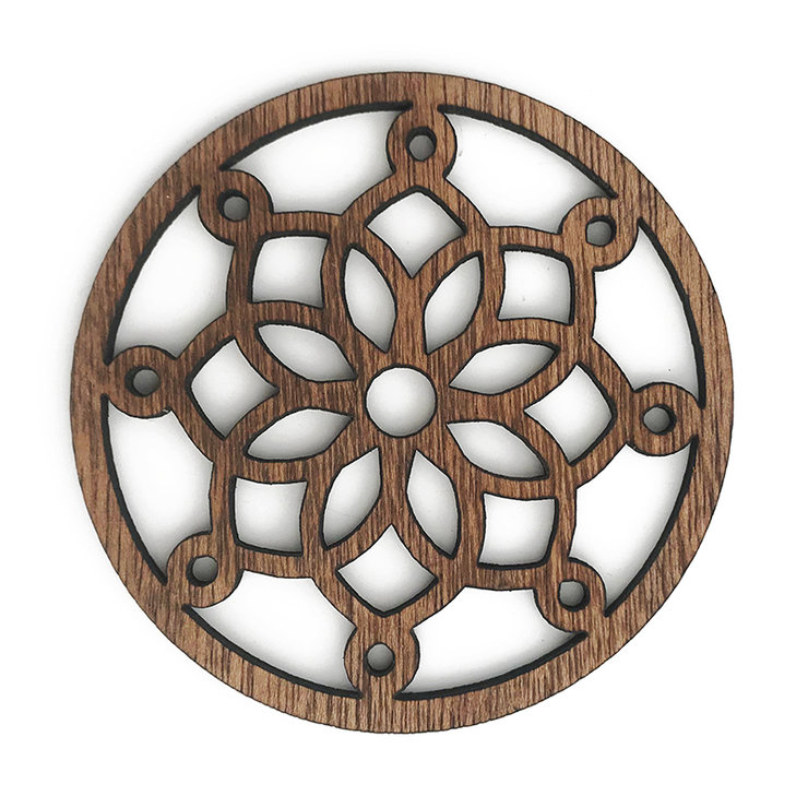 d16da280106 Wooden Coasters - Set of 6 (FREE SHIPPING) by Nice