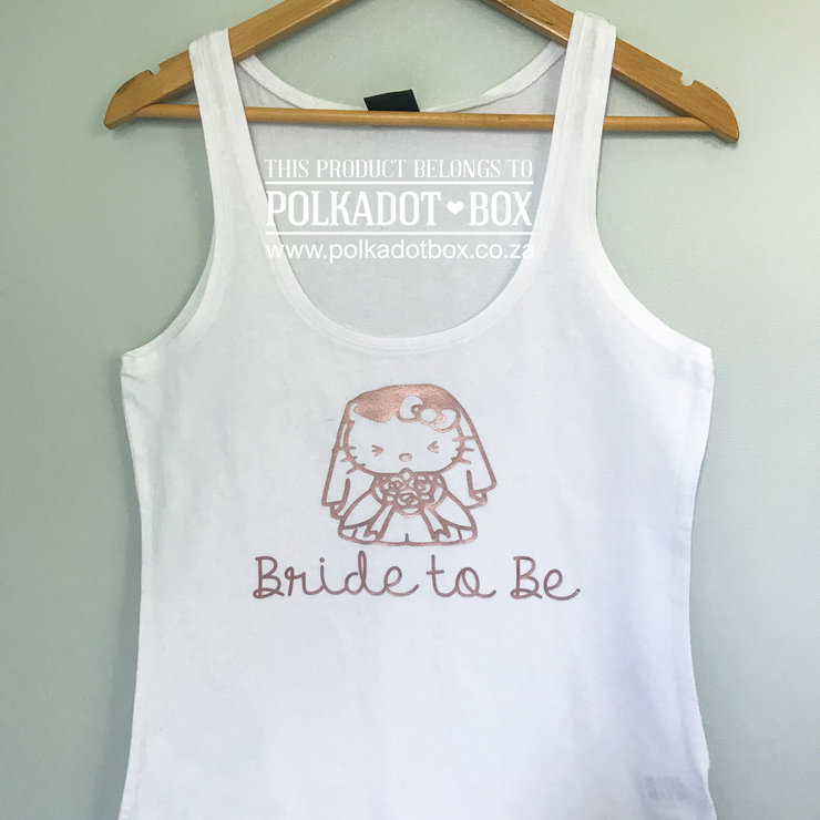 Hello Kitty Bride Tank Top by Polkadot Box