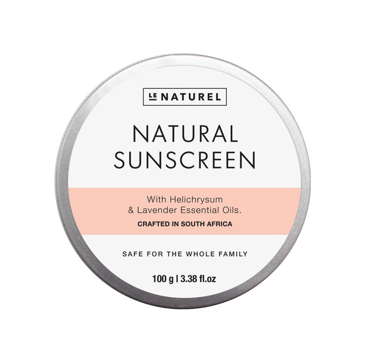Natural Sunscreen 100ml by Le Naturel