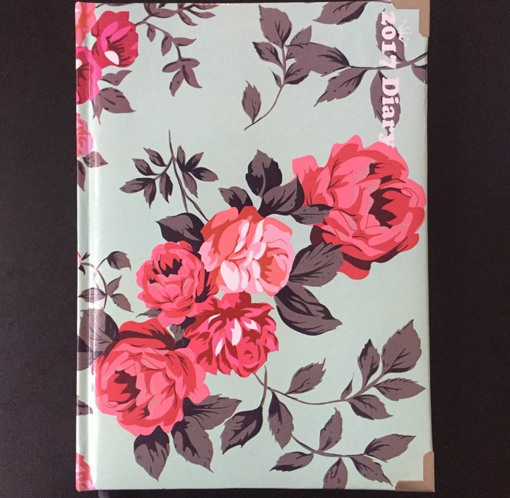 A5 - FLORAL DIARY - DDA5 by Cool Creations