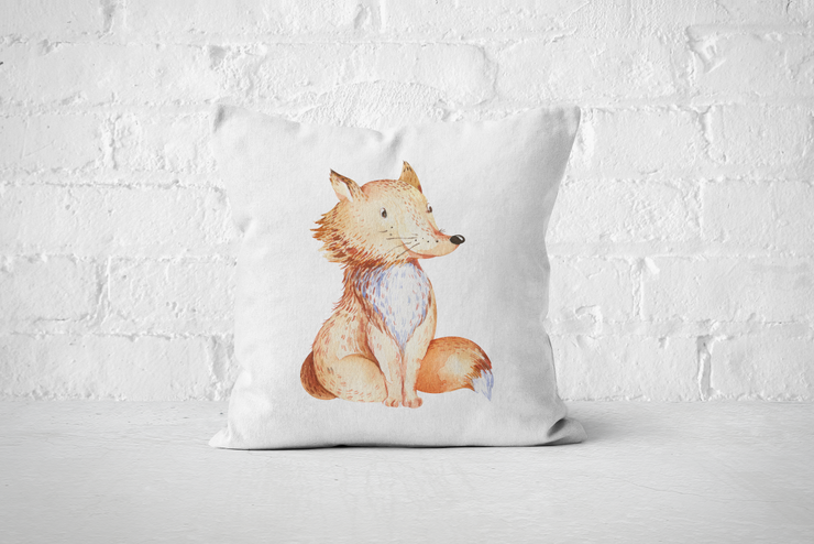Friends of the Forest 14 | Pillow Cover by But Why Not