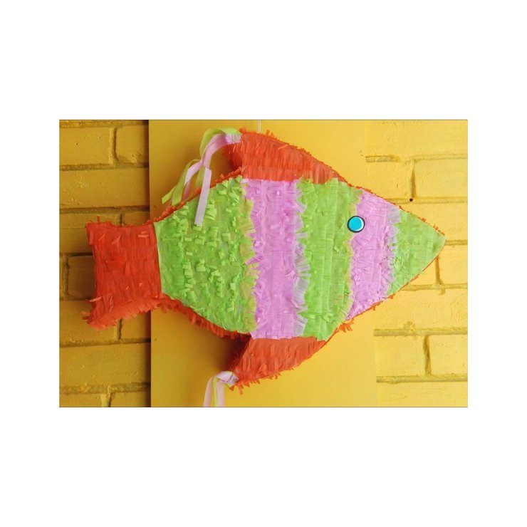 Bright Fish Pinata by Piñatas Galore