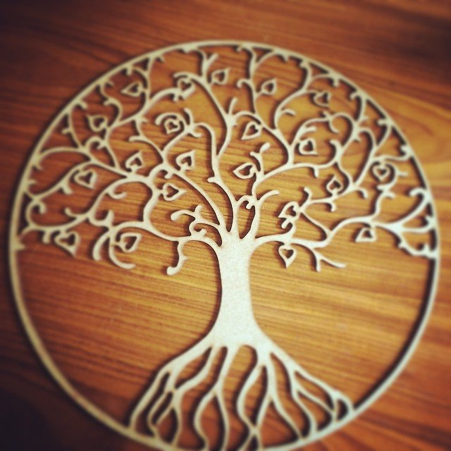 Mdf Tree Amp Roots By Laser Creations
