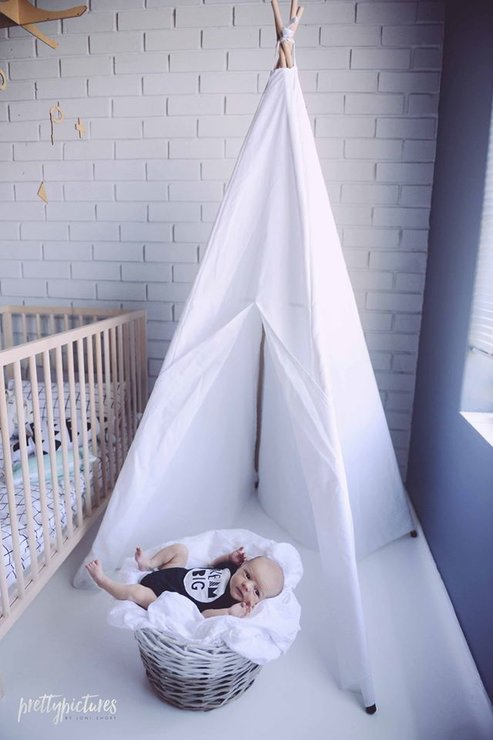 Kiddies Teepee Tent  by Two Create