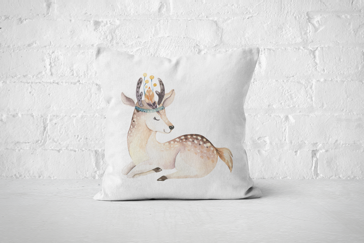Friends of the Forest 16 | Pillow Cover  by But Why Not