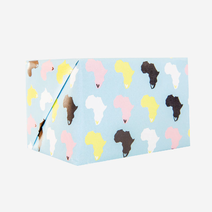 Africa Gift Paper Colour by Fox & Heroine