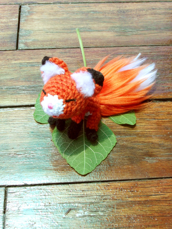 Crochet Pattern: Amigurumi Fox & Handmade Fur by Crayons