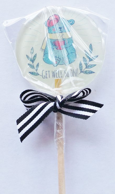 67aa17529699 Customized Handcrafted Get Well Soon Lollipops by MungLi Lolli Co.