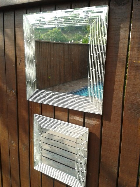 Mirror with 5mm strips by Exclusive Mirrors