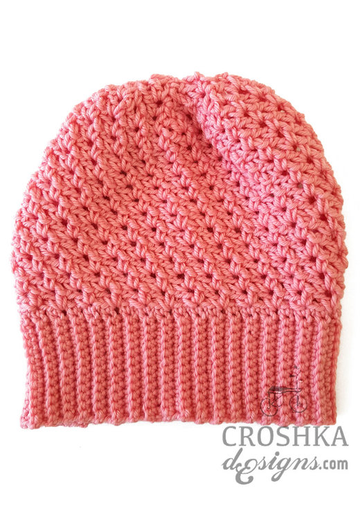 28382b4f662 Crochet merino wool slouchy beanie - Made to Order by Croshka Designs