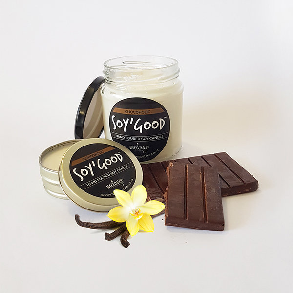 Soy'Good Hand Poured Soy Candle Chocoholic 50ml by melangestore.co.za