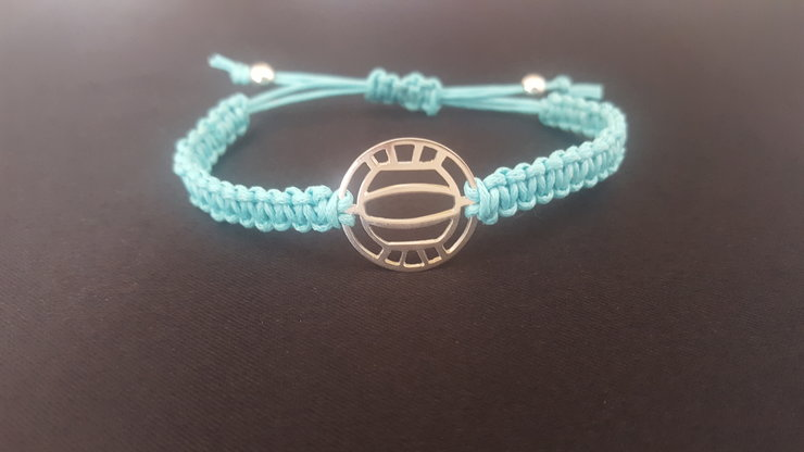 Waterpolo/Volley ball cord bracelet by Isis