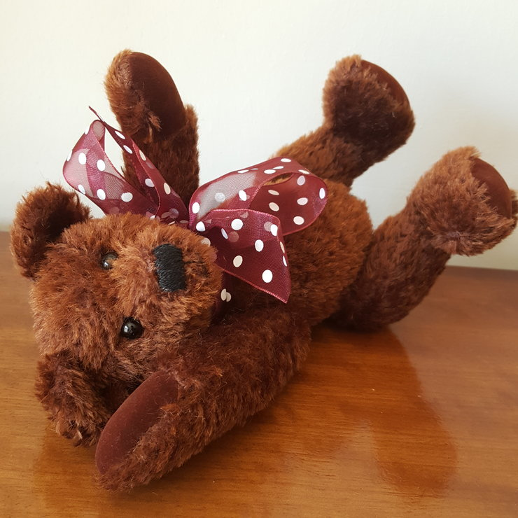 Handmade Mohair Bear by happiness@nr4