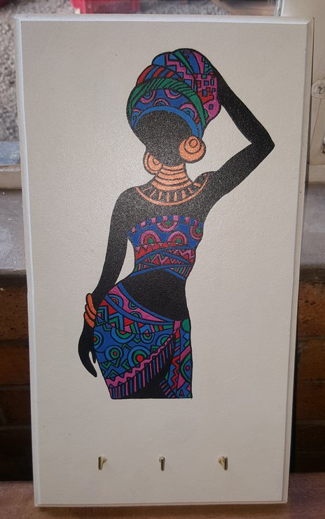 African woman board by Crafty crafts