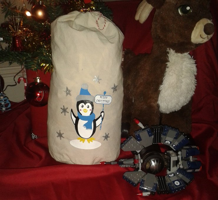 Christmas 'stocking' bags by Imagine Creations