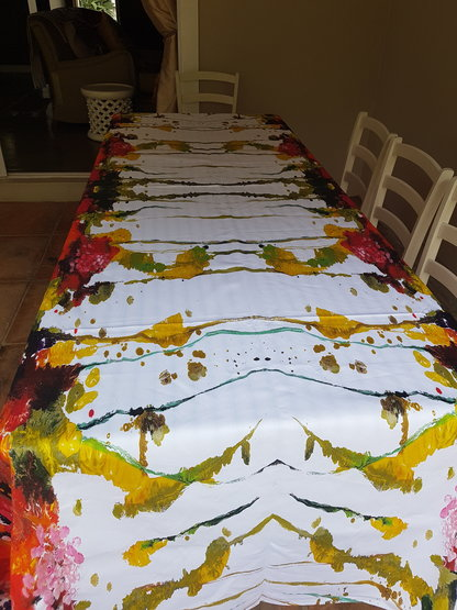 Pomelo Tablecloth 3m x 145cm by Natasha Barnes Home