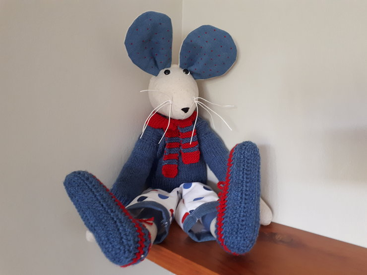 Red and Blue Mouse by Heart & Soul