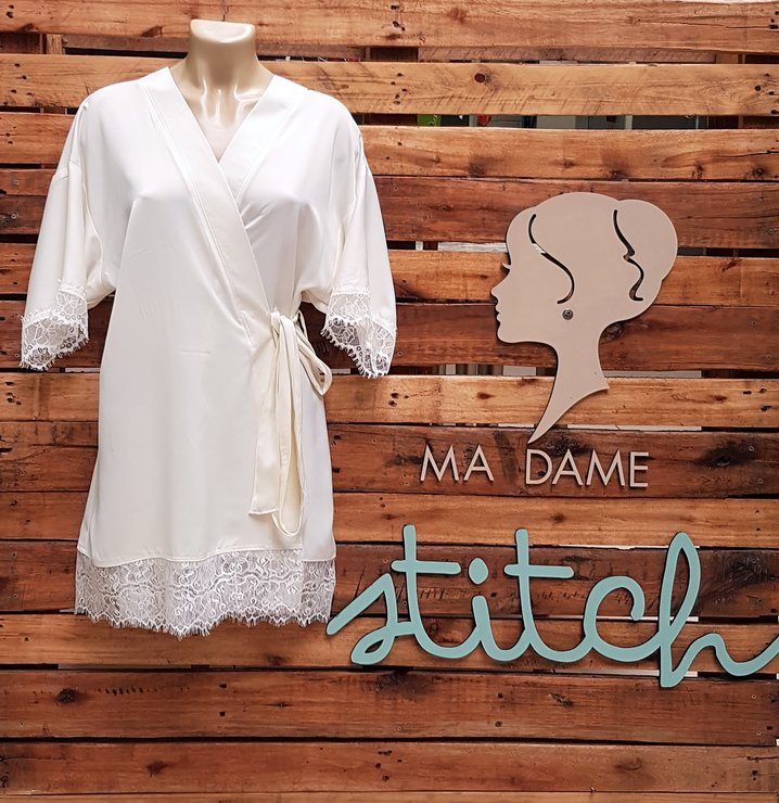 Satin with Lace by Ma Dame Stitch