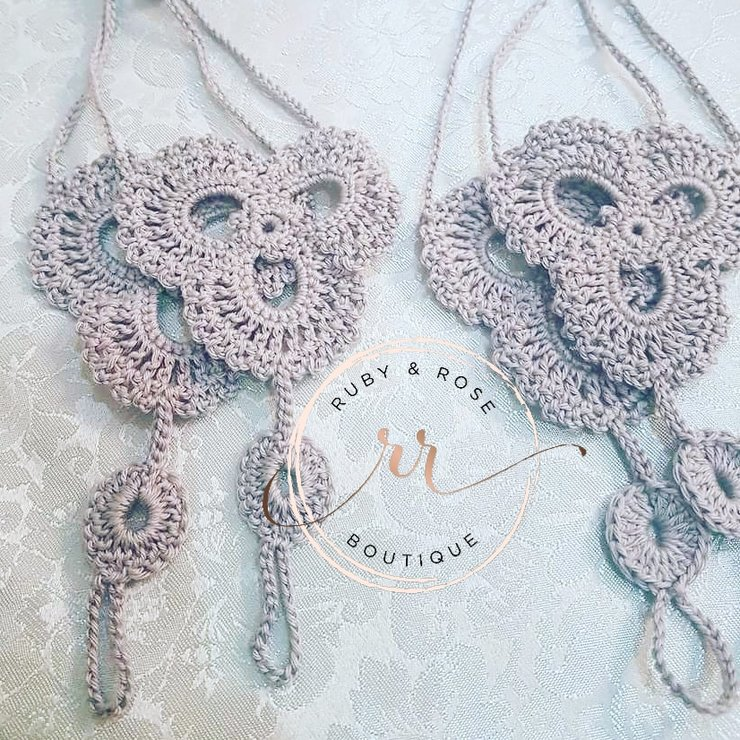 Barefoot sandals by Ruby & Rose Boutique