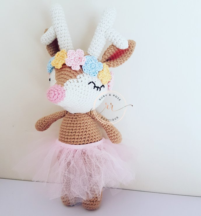 Ginger Reindeer by Ruby & Rose Boutique