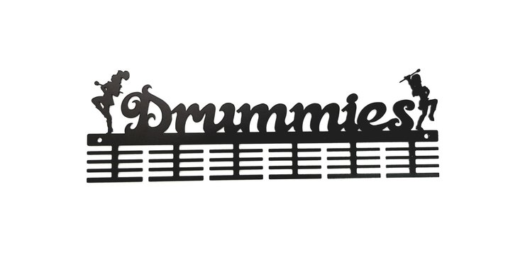 Drummies 48 tier medal hanger Black by Medal Hanger & Home Décor Specialists - DC Designers