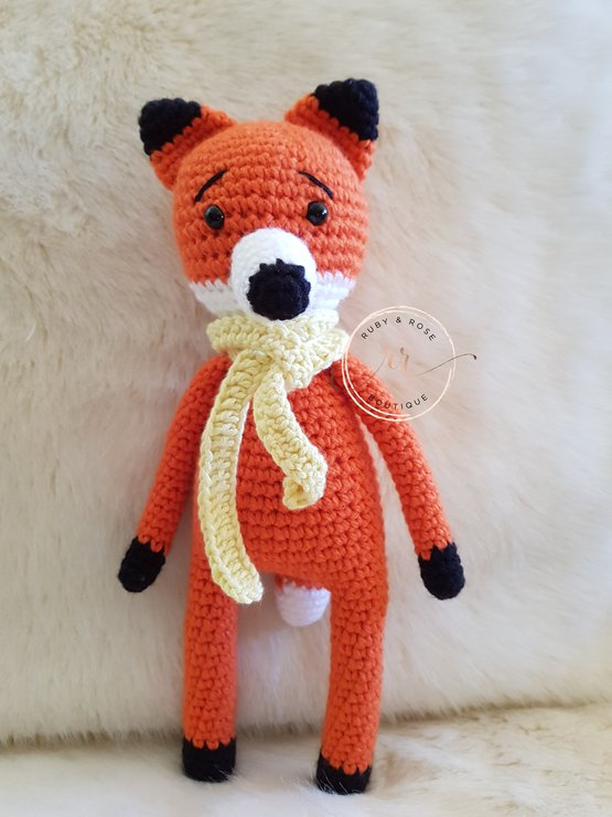 Cuddle Fox by Ruby & Rose Boutique