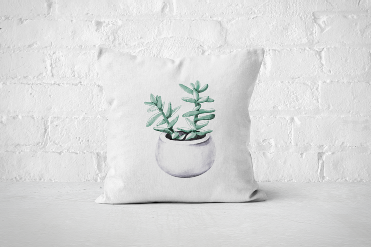Cacti Party 20 | Pillow Cover by But Why Not