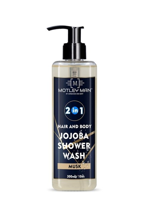 Motley Man 2 in 1 Shower Wash 300ml Musk by Camwoods and West Pty Ltd