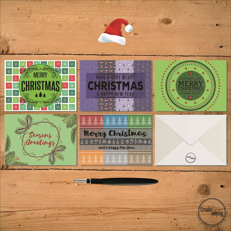 digital christmas cards traditional by create design
