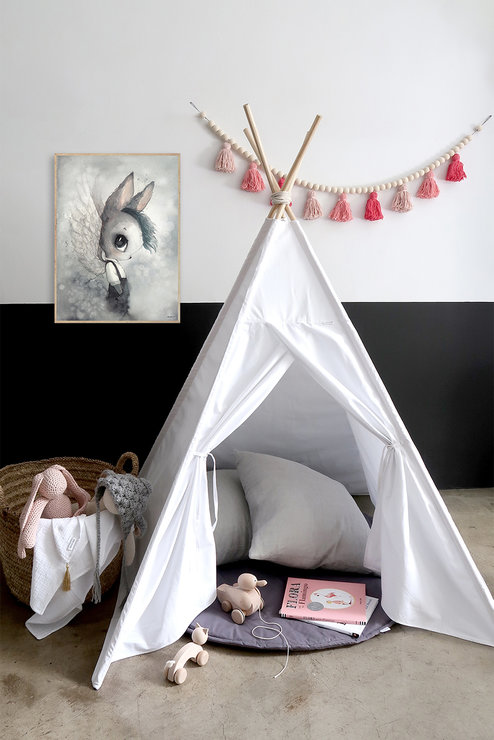Cotton Teepee by Willow and Wolfe
