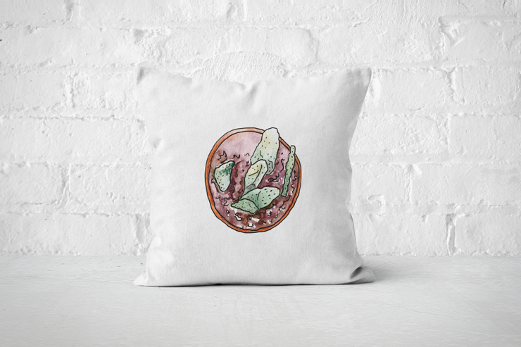 Succulent 24 - Pillow Cover by But Why Not