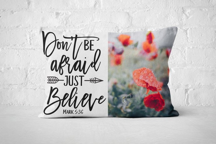 Just Believe - Pillow   by But Why Not