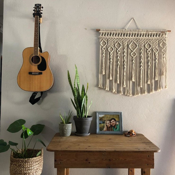 Tassels Wall Hanging by Naturally Macrame