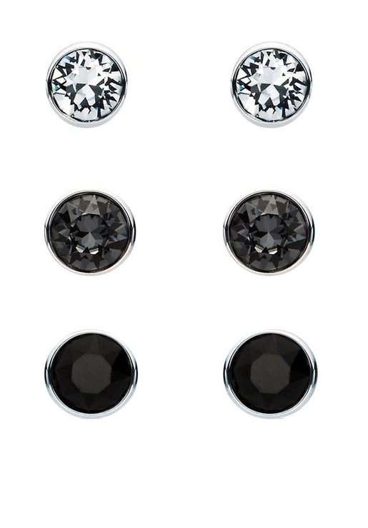 Civetta Spark Swarovski Surgical Steel Set - Black by Civetta Spark