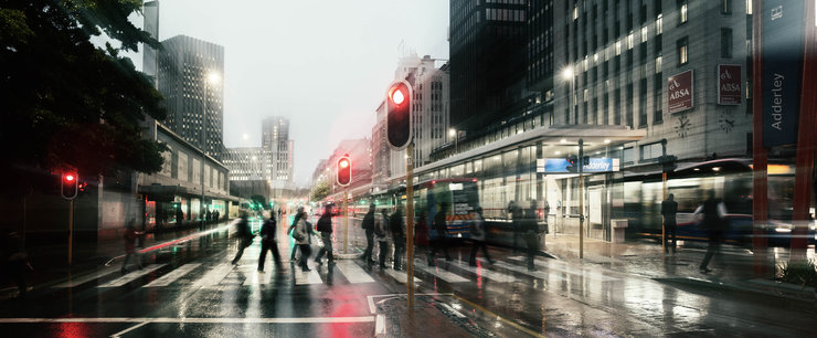 Adderley Street - 60x145cm  (copy) by Smith&Boyd