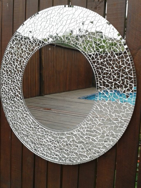700mm Round mirror  by Exclusive Mirrors