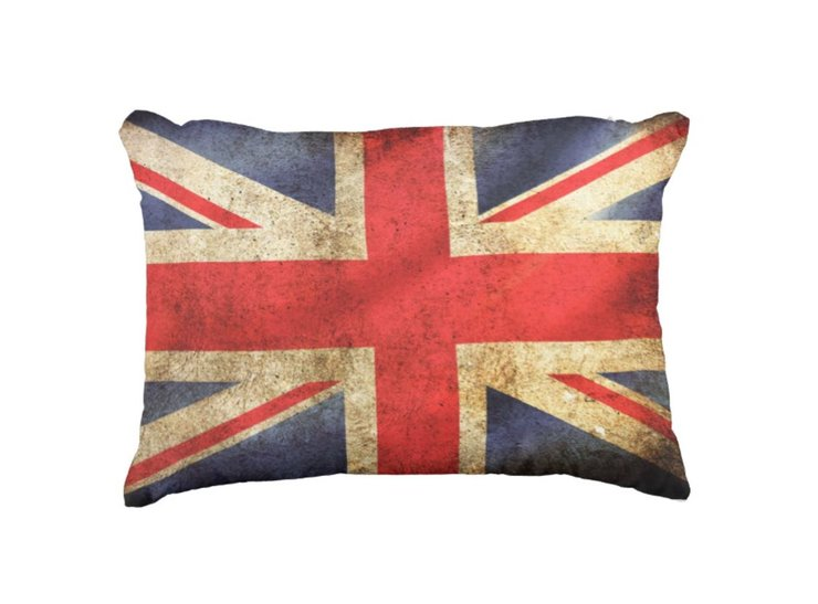 British Flag Scatter Cushion by But Why Not