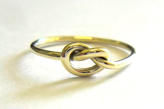 Gold Knot Ring by House of Kallie