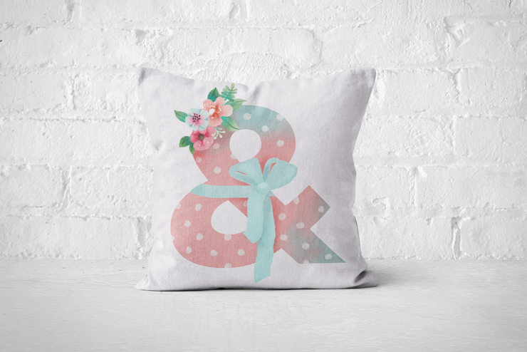 Pretty Letters Pillow Cover - & by But Why Not