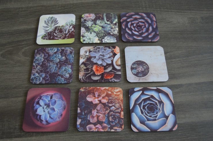 Wood Coasters - Custom Printed by But Why Not