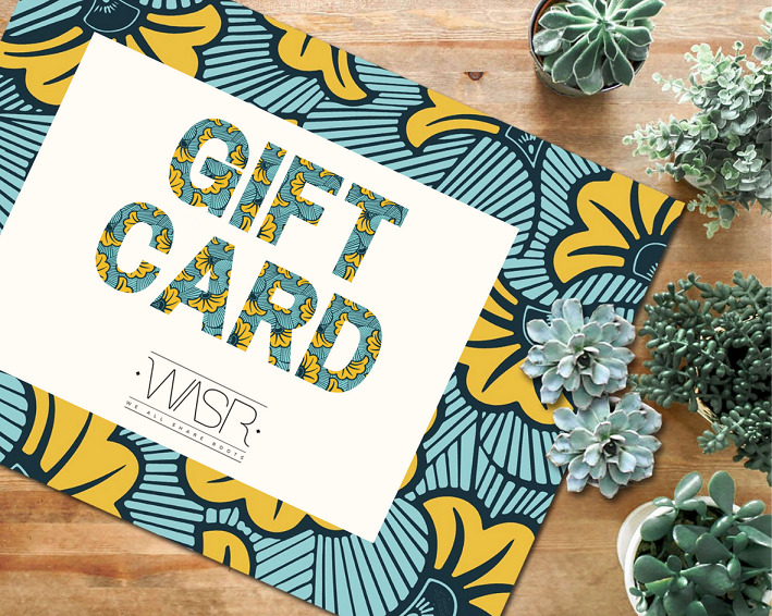 Gift Card by We All Share Roots