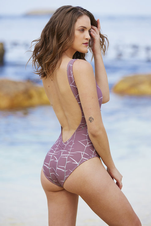 Acacia Backless one-piece by Gabrielle Swimwear