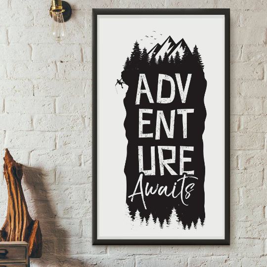Adventure Awaits, Printable Quote by Call It Magic Designs