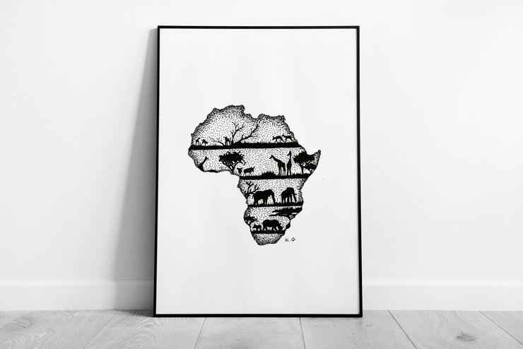 African Dream by Ebb & Ive Designs