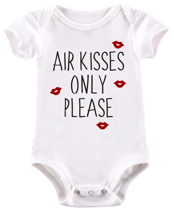 Air kisses only baby grow  by BTSN Design (Pty)LTD